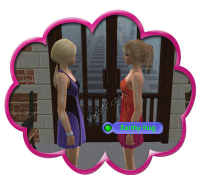 The Sims 2 Apartment Life Apartman Hayatı Earthy Hug Gesture Selamlama