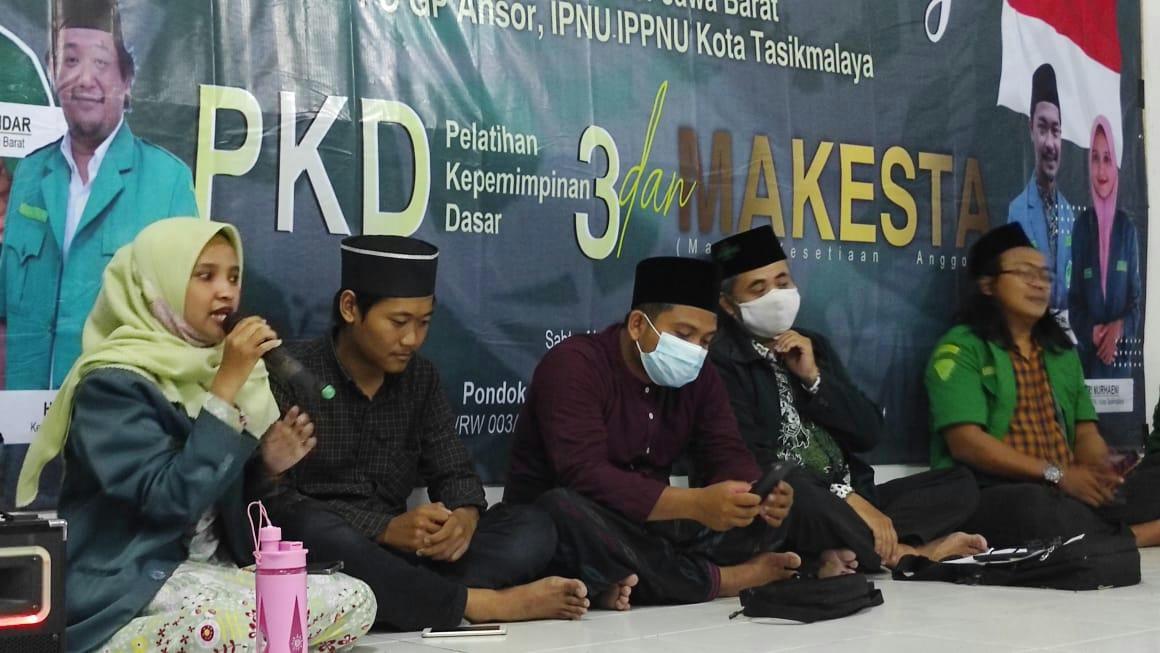 Harlah NU Ke-98. Tiga Banom NU Kecamatan Indihiang Serentak Langsungkan Kaderisasi
