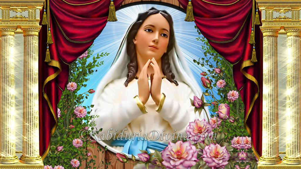 Virgen Maria Puerta del Cielo