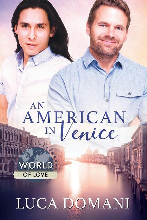 Luca Domani - An American in Venice Cover