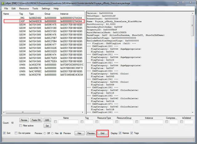 [Intermediaire]  S4PE - Modifier les informations de type catégories (flags) et couleurs (swatchcolor) d'un package Dnbxtxw36381md26g