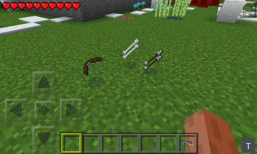 its arrows and bones this mod is already included in emeraldcraft