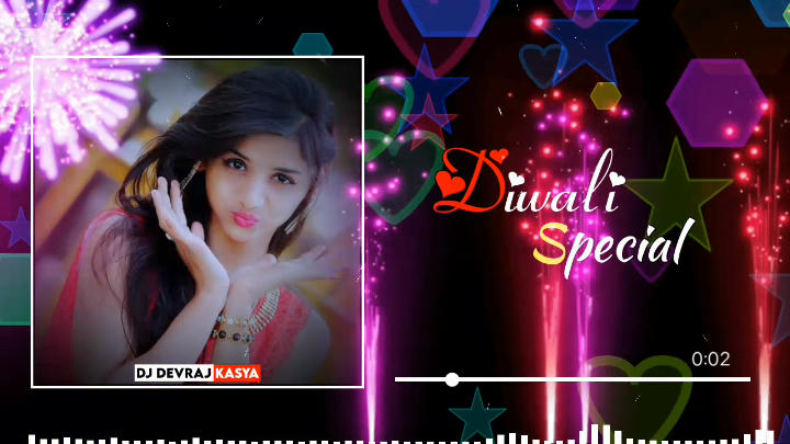 Diwali Special Avee Player Template Download link