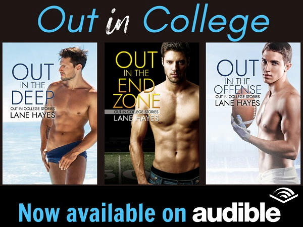Lane Hayes - Out in the Field Series Audible Banner