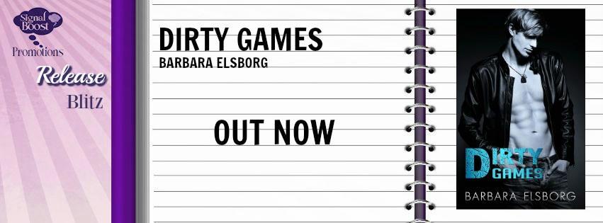 Barbara Elsborg - Dirty Games RB Banner