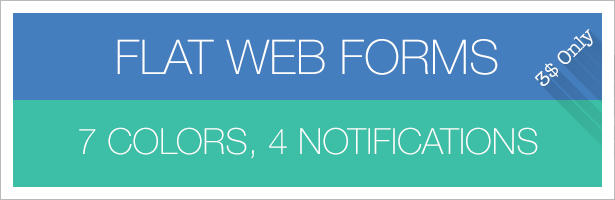 Flat Web Forms