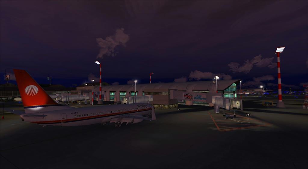 Elmas-X 2013 - one of best freeware italian scenery airports ready
