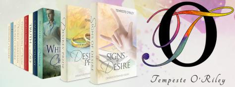Tempeste O'Riley books banner