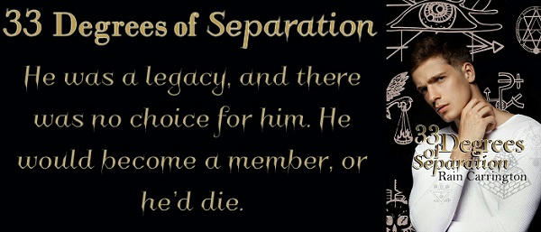 Rain Carrington - 33 Degrees of Separation Banner
