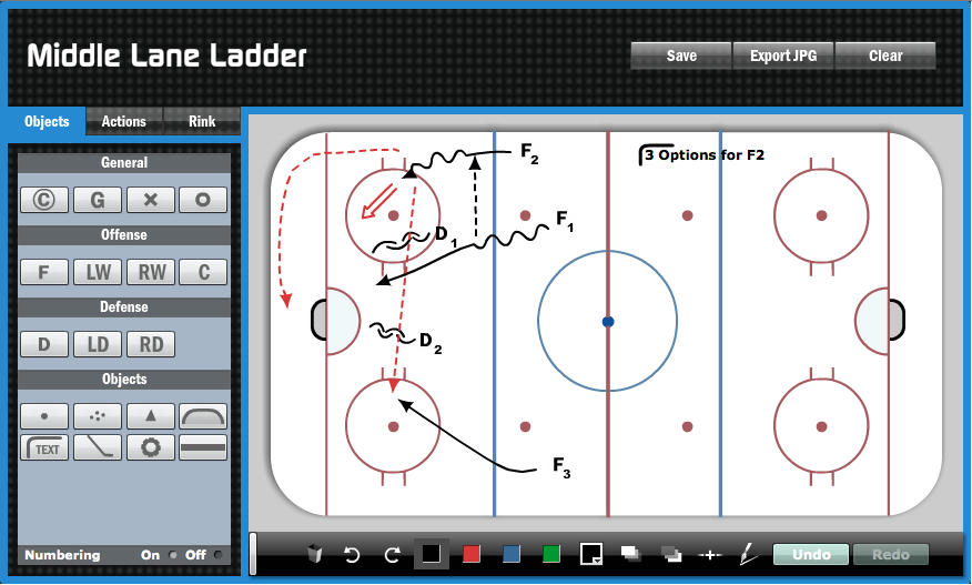 HockeyShare Drill Diagrammer Preview